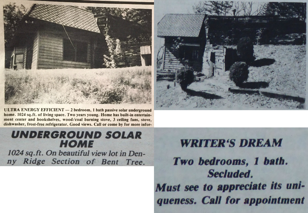 1987 sales info for the house