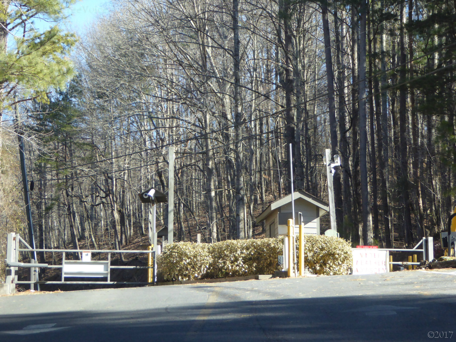February 15, 2015 - entering through the back gate