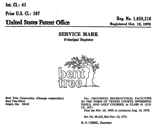 service mark x
