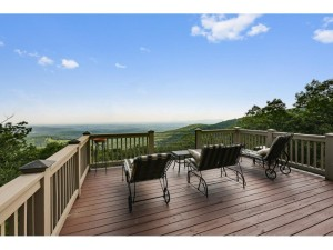 The view from one of three decks at 371 Thunder Ridge in Bent Tree (listing photo)