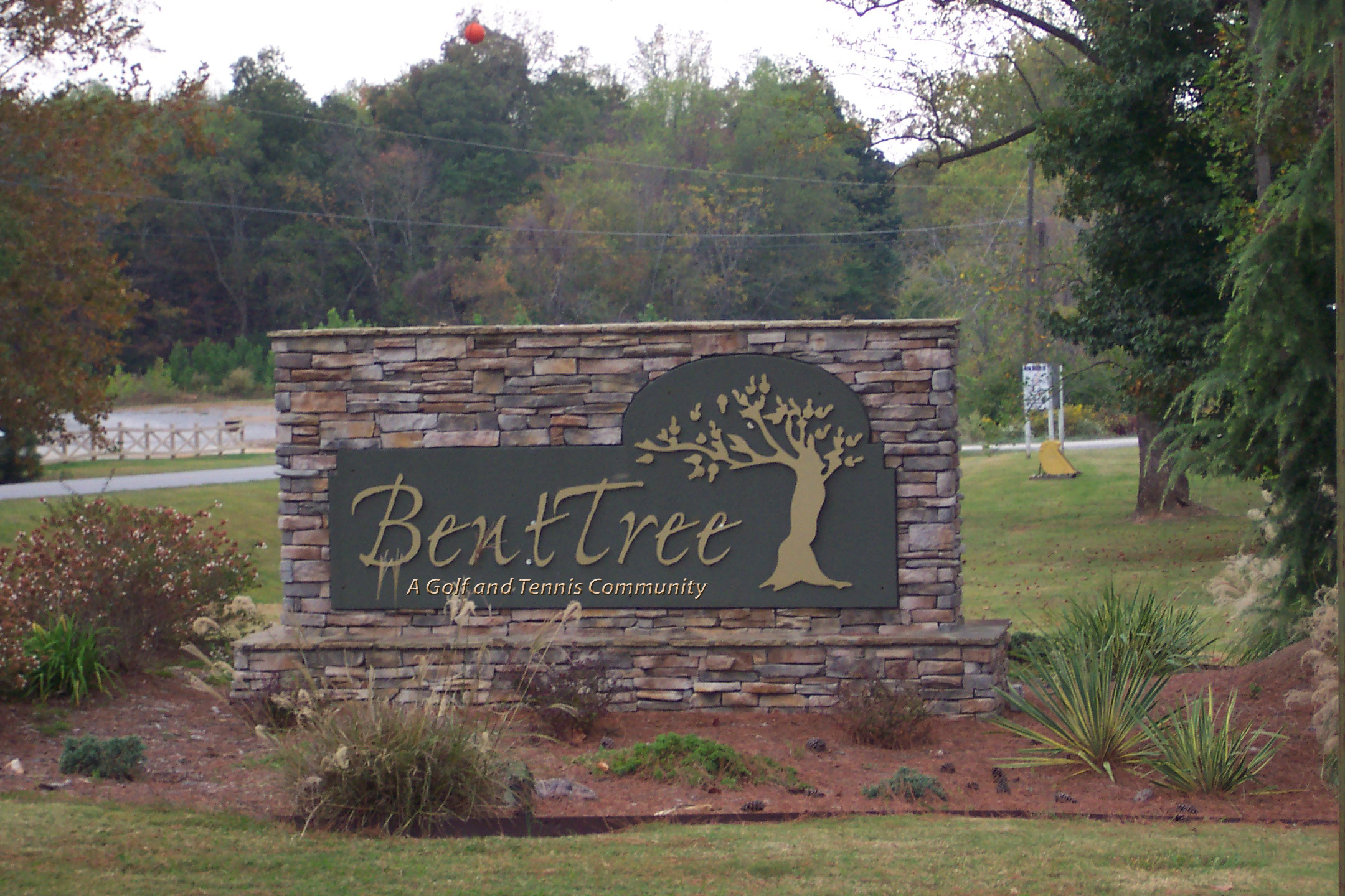 Example of the addition to the sign as proposed to the Board in 2011