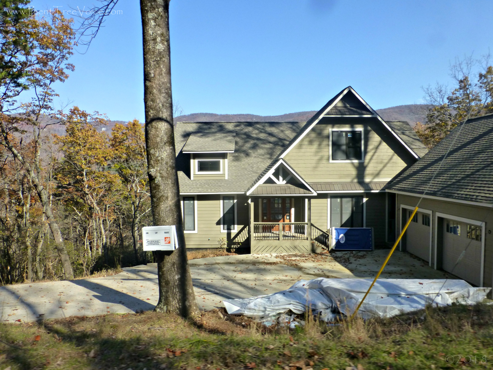 "November 19, 2018 - ""new construction"" at 2 Mountain Breeze Lane"