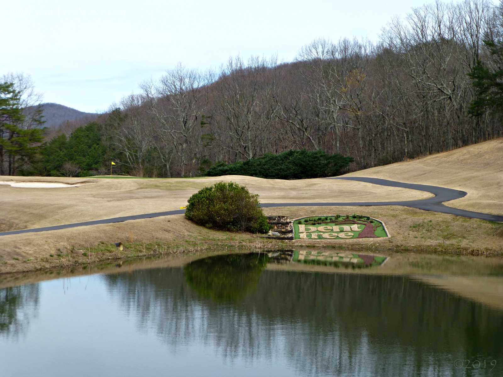 March 2, 2019 - Signature Hole #7, Bent Tree Golf Club