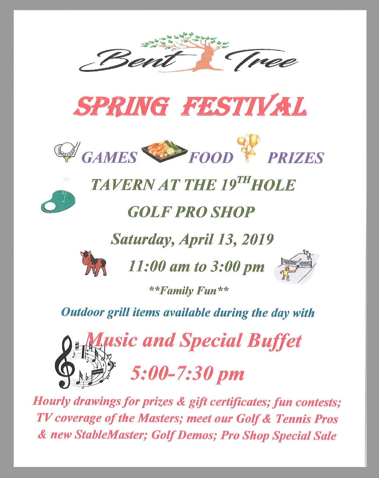 Bent Tree Spring Festival