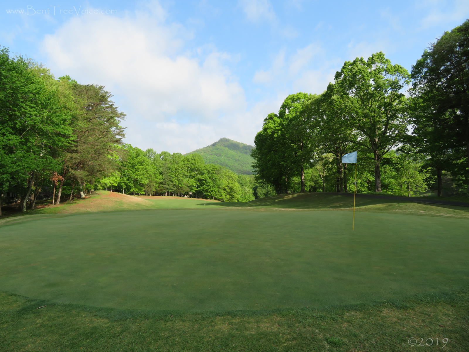 April 26, 2019 - Hole 1, Bent Tree Golf Course