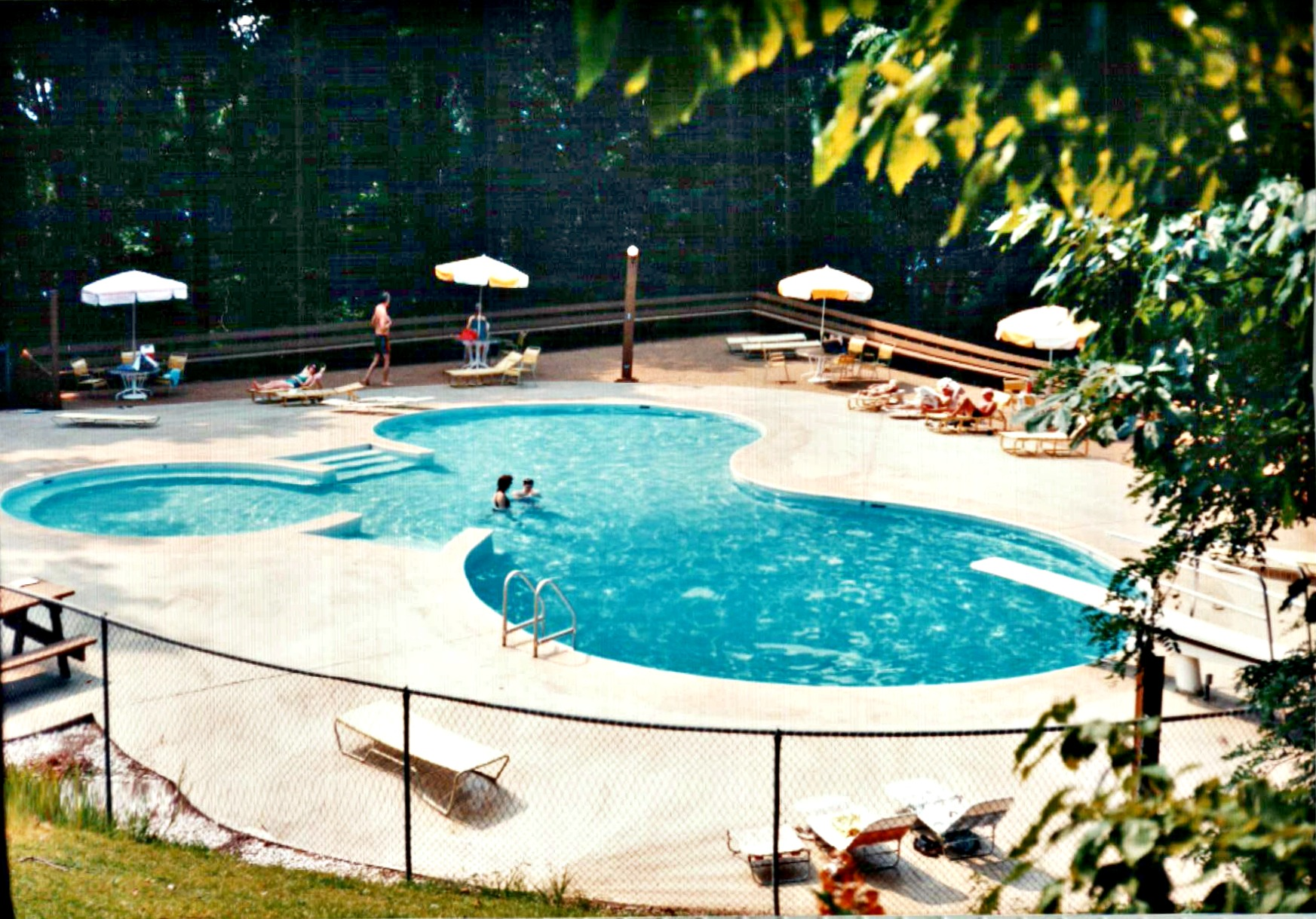 1991 - Lower Pool in Bent Tree