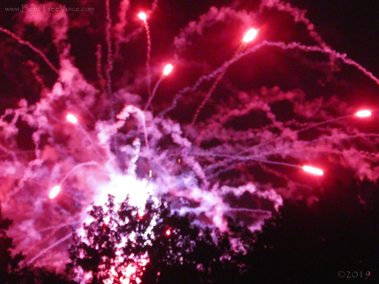 July 4, 2019 - Fireworks finale