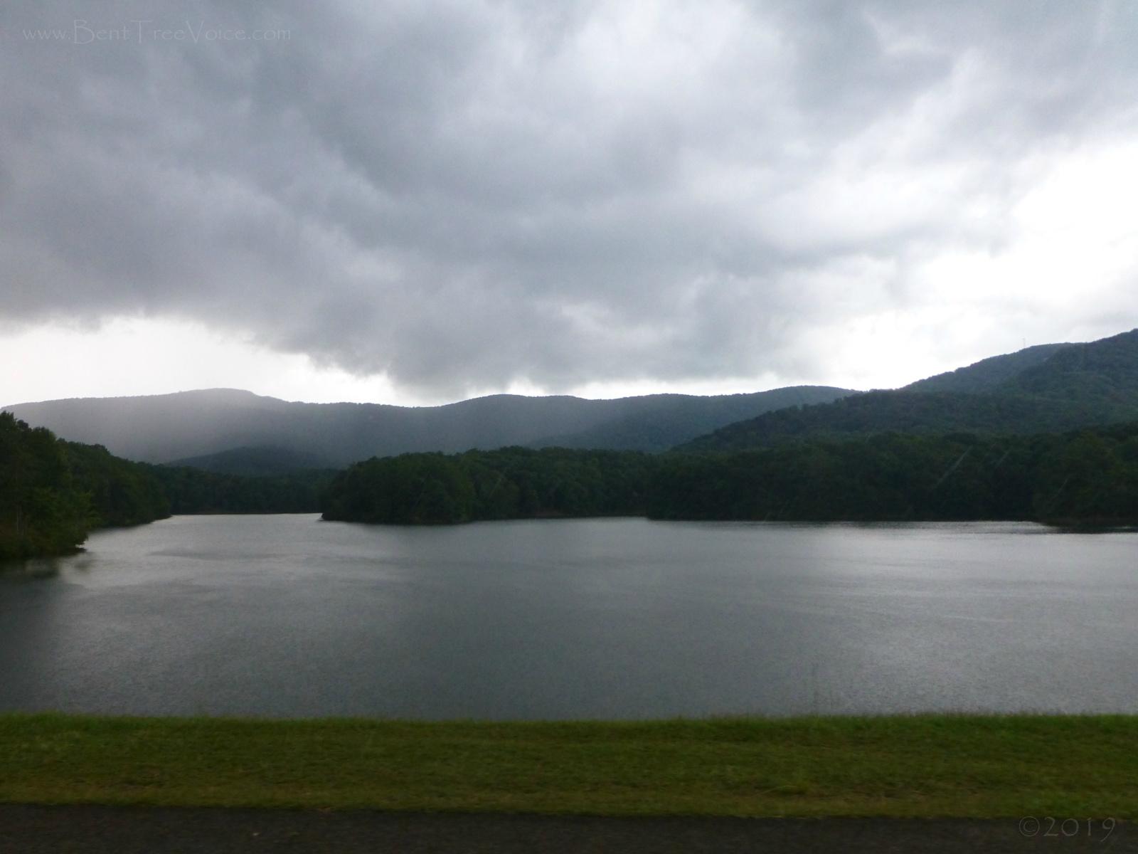 July 18, 2019 - Rain Clouds over Lake Tamarack