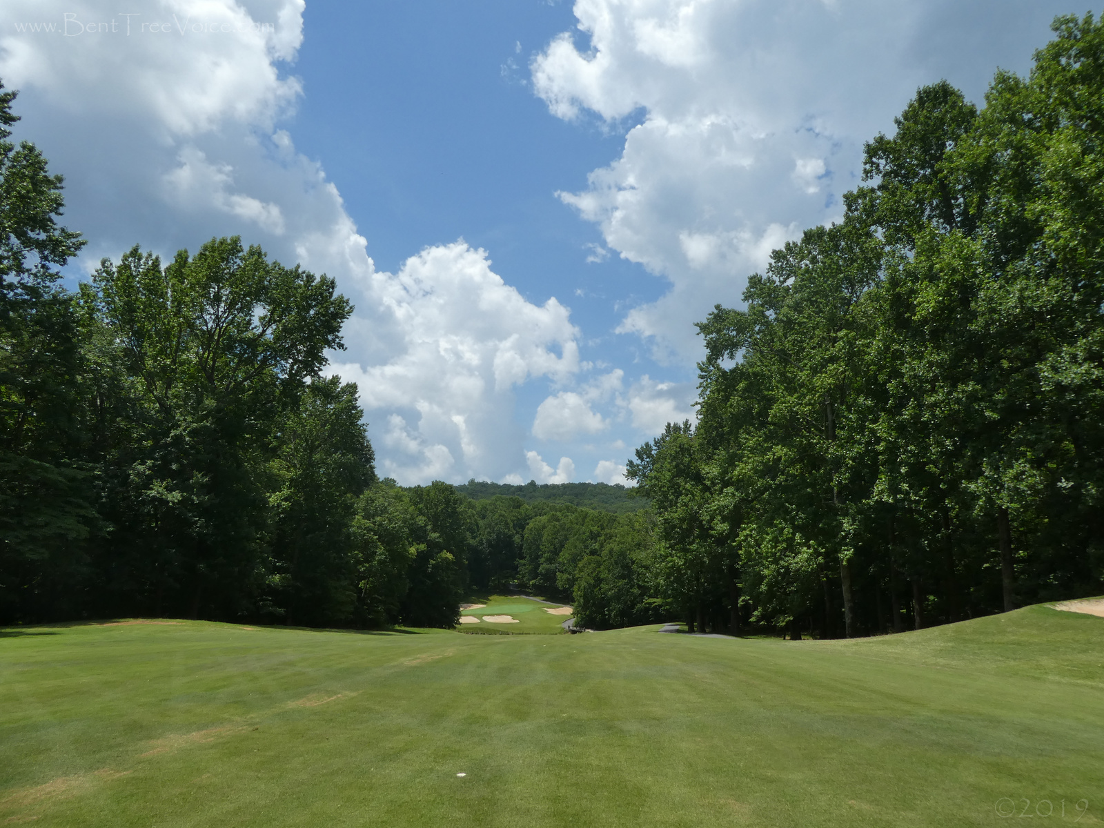 July 5, 2019 - Hole 14, Bent Tree Golf Course