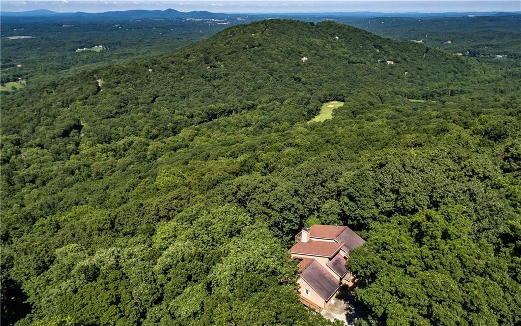 Aerial view of 307 Panorama Point in Bent Tree (AGENT'S LISTING PHOTO)