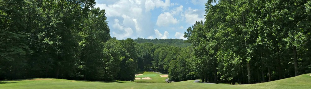 View from the 14th fairway, Bent Tree Golf Course