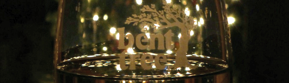 bent tree glass holiday header