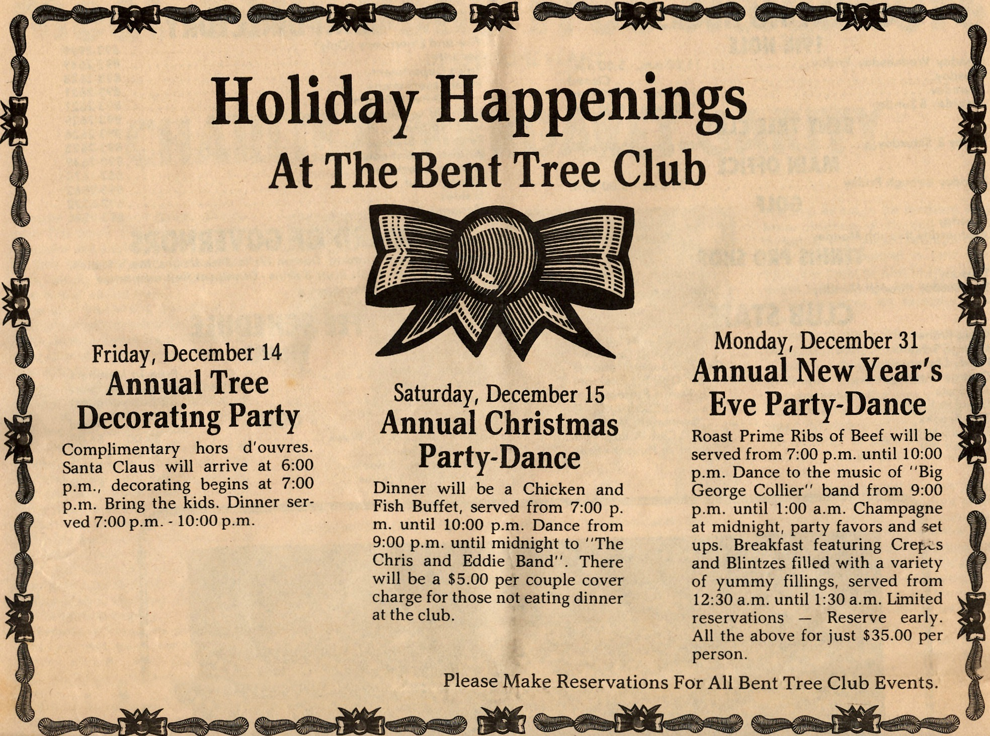 December 1979 in Bent Tree