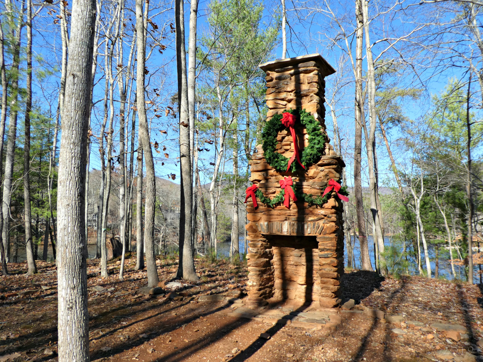 December 1, 2019 - Sallie Doss chimney in Bent Tree
