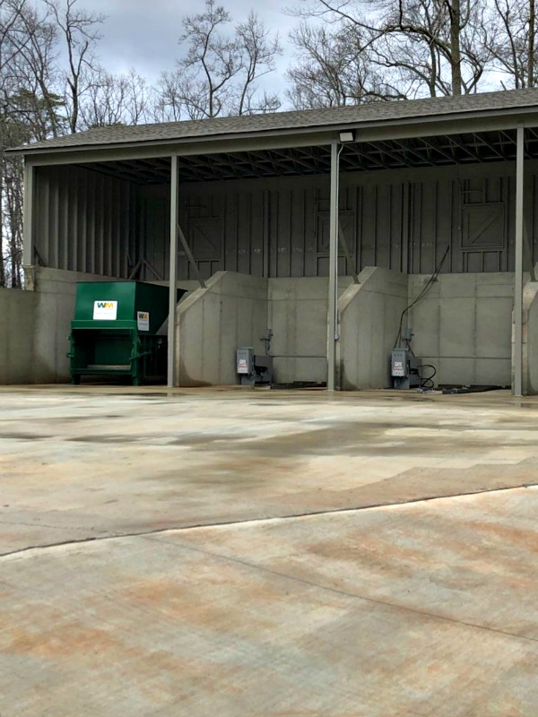 January 15, 2020 - Bent Tree's new Waste Management facility