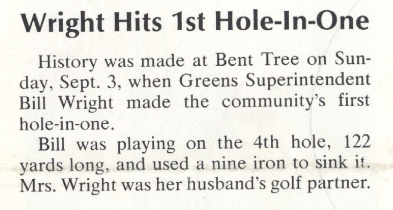 1972 in Bent Tree