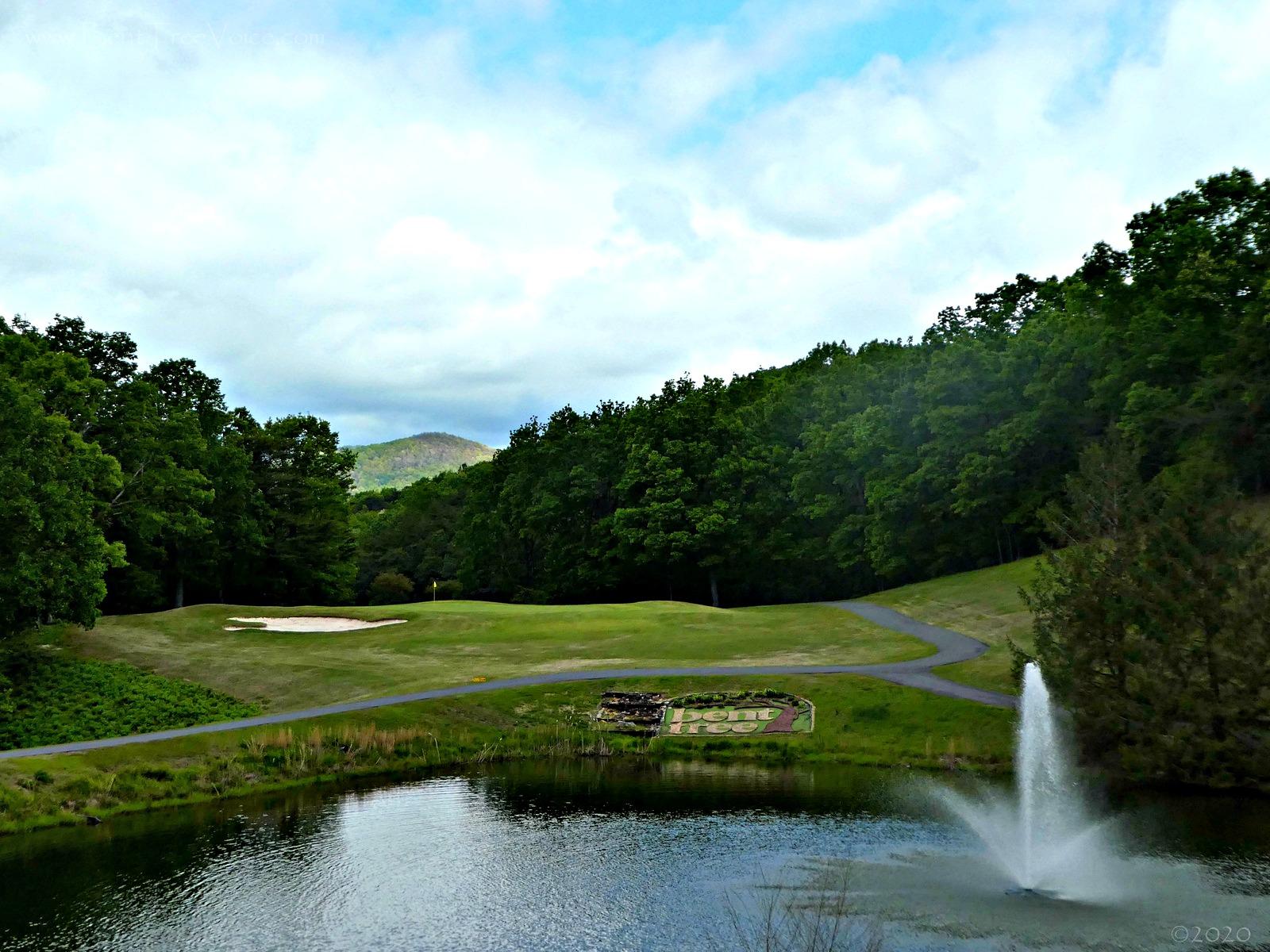 April 26, 2020 - Signature Hole 7, Bent Tree Golf Club