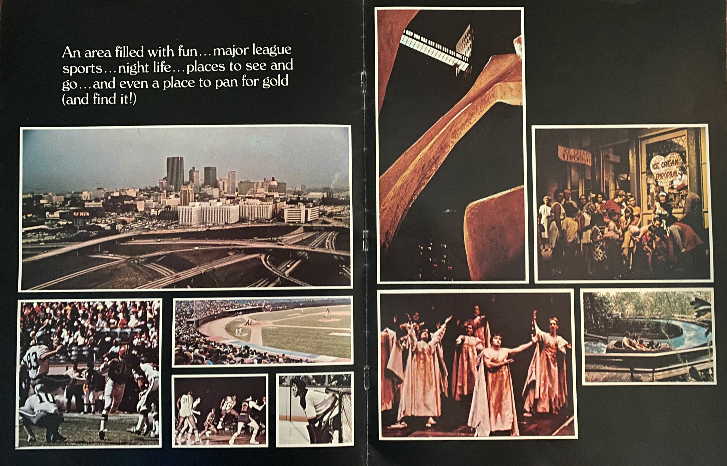 1970s Bent Tree brochure, pages 4-5