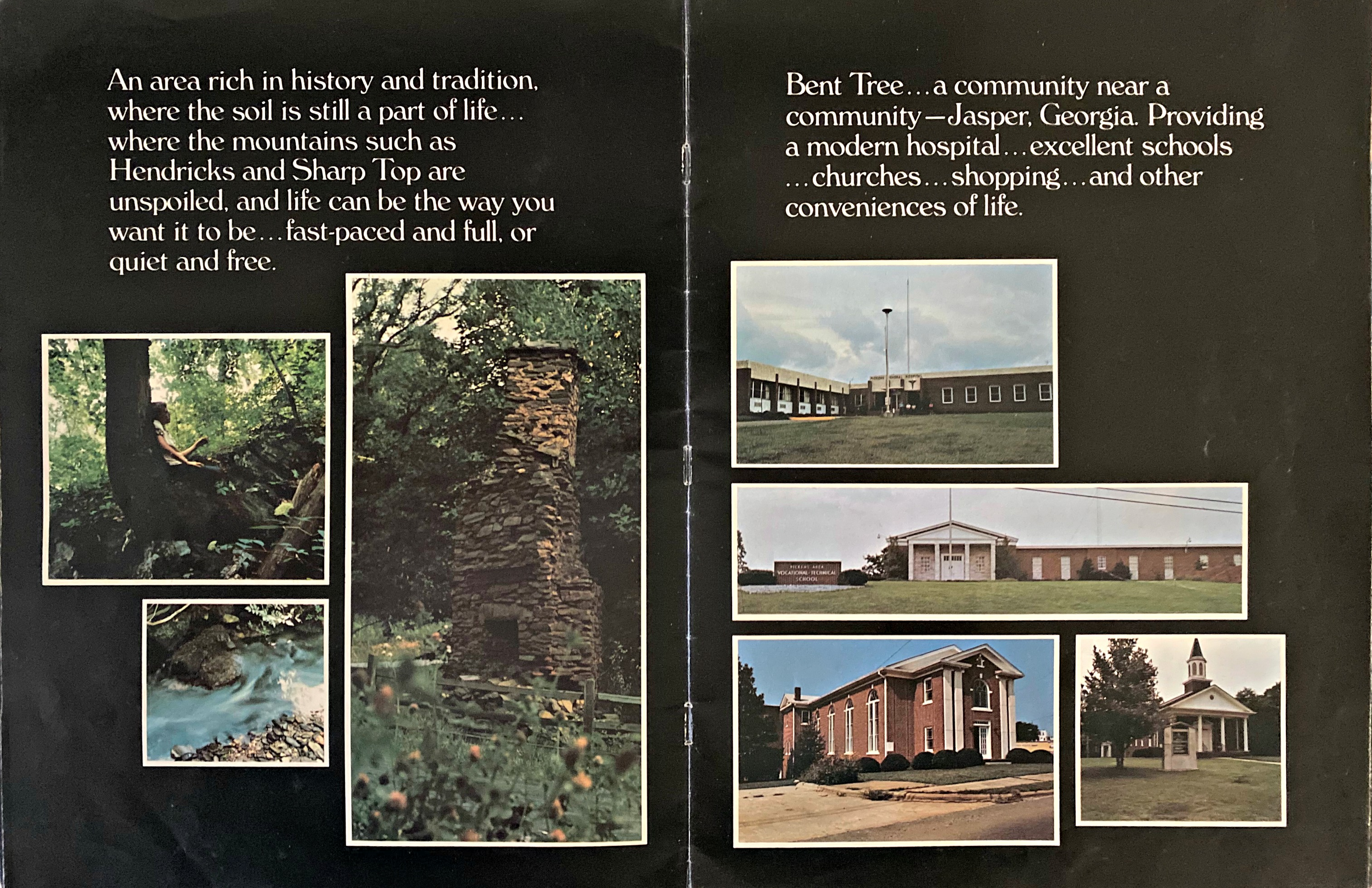 1970s Bent Tree Brochure, page 6-7 (click image to zoom)