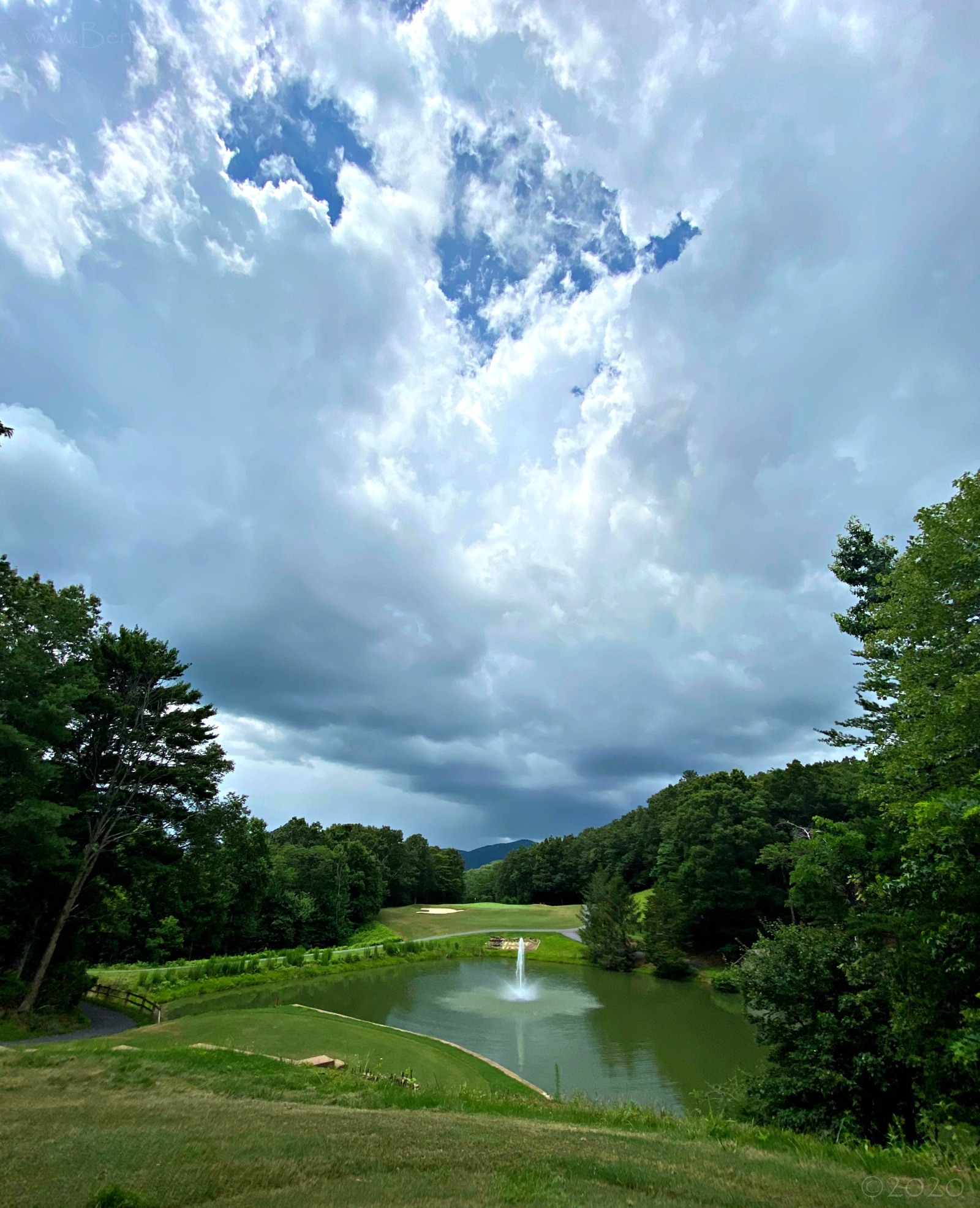 July 2, 2020 - view from Hole 7